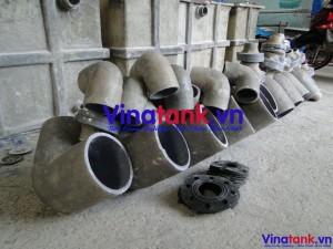 bọc phủ composite ống dẫn, boc phu frp ong dan, ống composite, ống frp