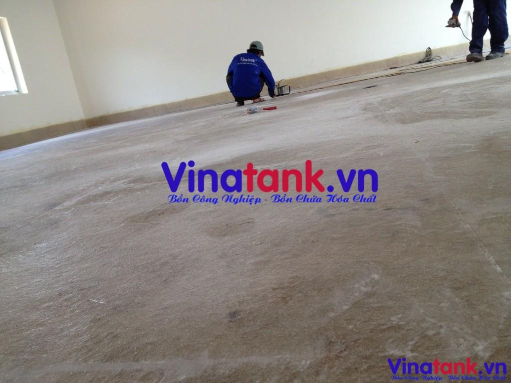 bọc phủ frp nền bê tông, bọc phủ frp nhà xưởng, bọc phủ composite chống thấm