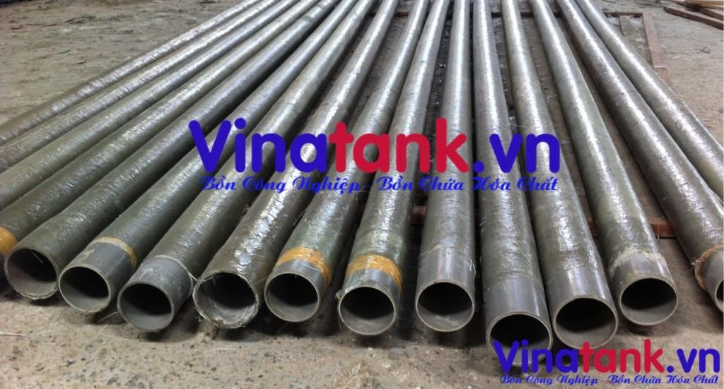 bọc phủ composite ống dẫn, bọc phủ frp ống dẫn
